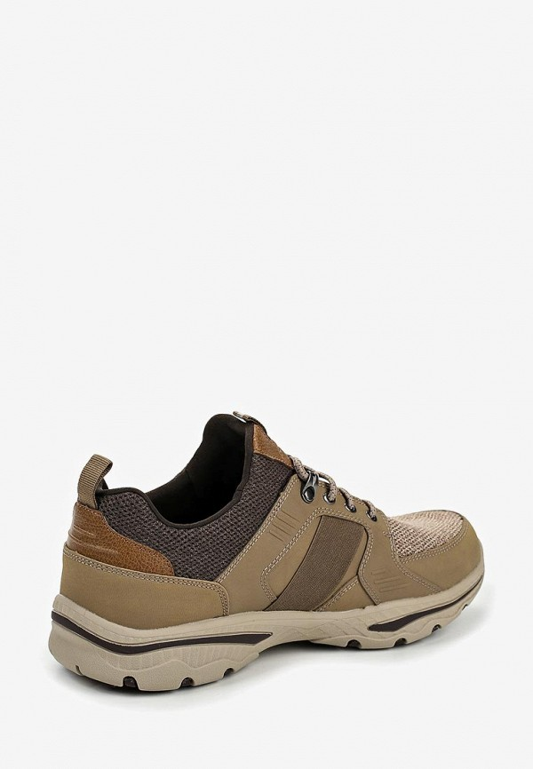 Фото 3 - мужские кроссовки Skechers коричневого цвета