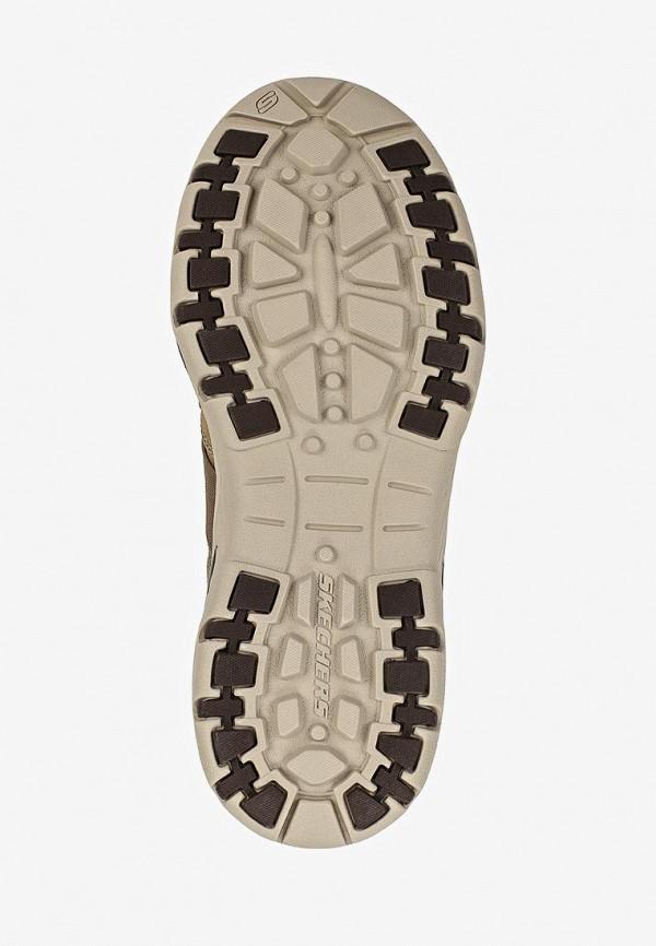Фото 5 - мужские кроссовки Skechers коричневого цвета