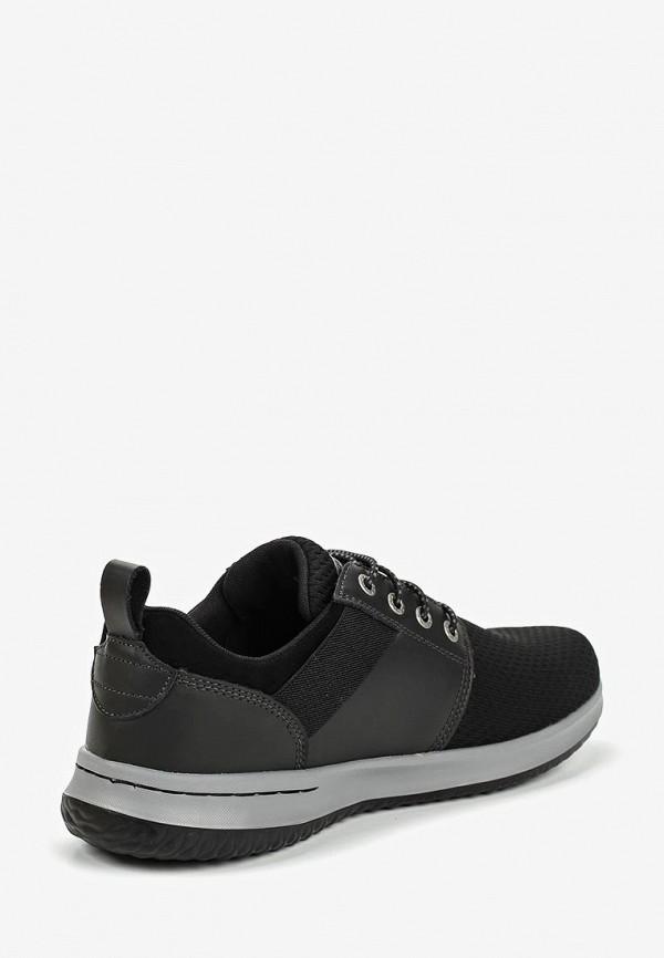 Фото 3 - мужские кроссовки Skechers черного цвета