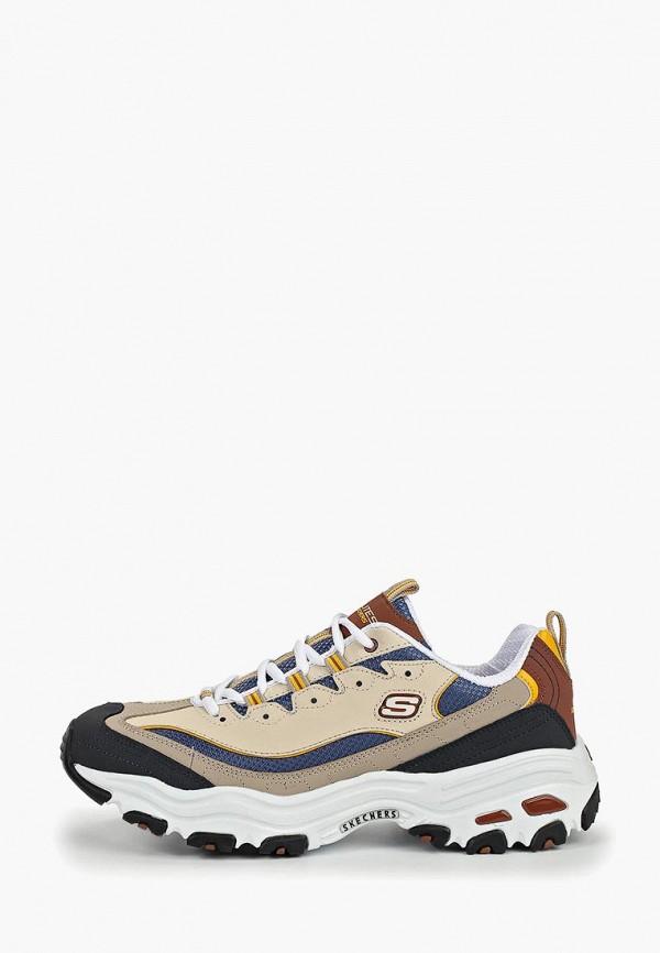 мужские кроссовки skechers, бежевые