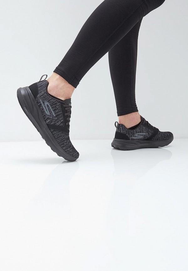 Фото 6 - мужские кроссовки Skechers черного цвета