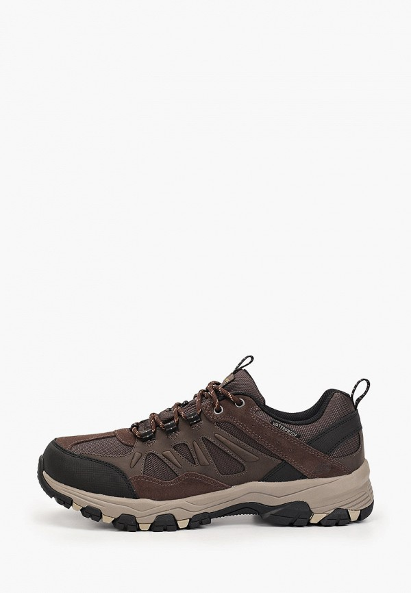мужские кроссовки skechers, коричневые
