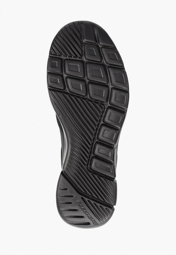 Фото 5 - мужские кроссовки Skechers черного цвета