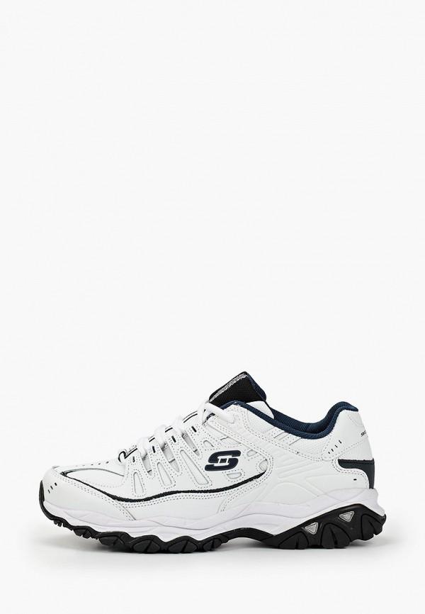 мужские кроссовки skechers, белые