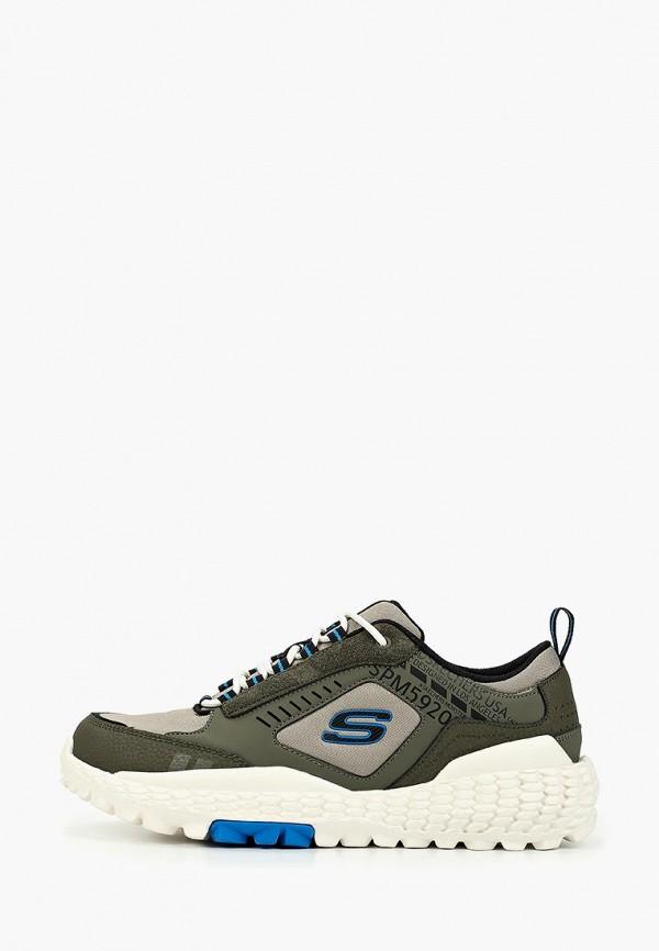 мужские кроссовки skechers, хаки