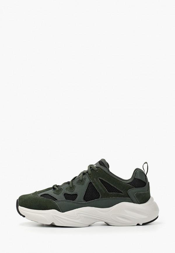 мужские кроссовки skechers, зеленые