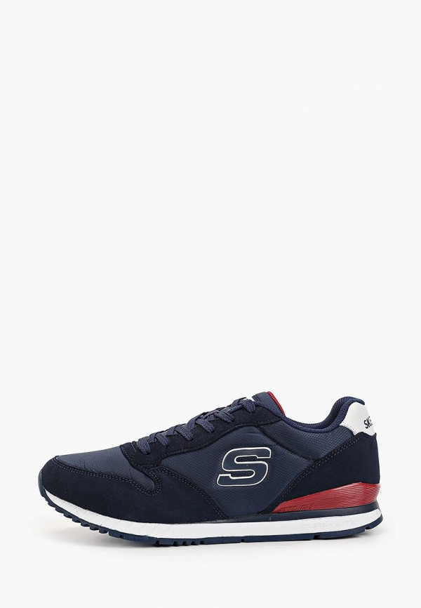 мужские кроссовки skechers, синие