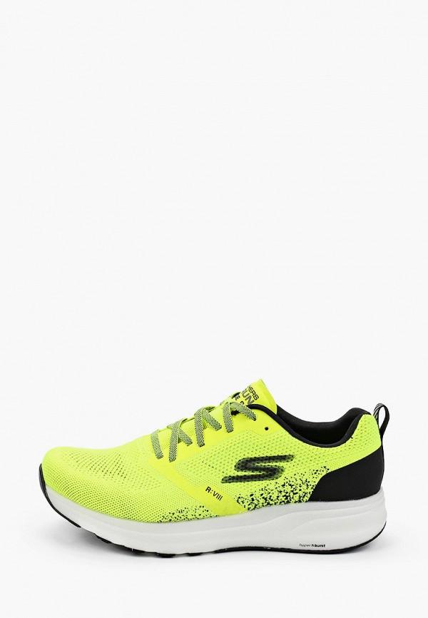 мужские низкие кроссовки skechers, желтые
