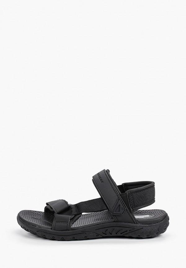 мужские сандалии skechers, черные