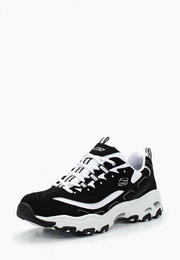Фото - мужские кроссовки Skechers черного цвета