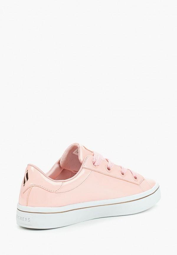 Фото 2 - Кеды Skechers розового цвета