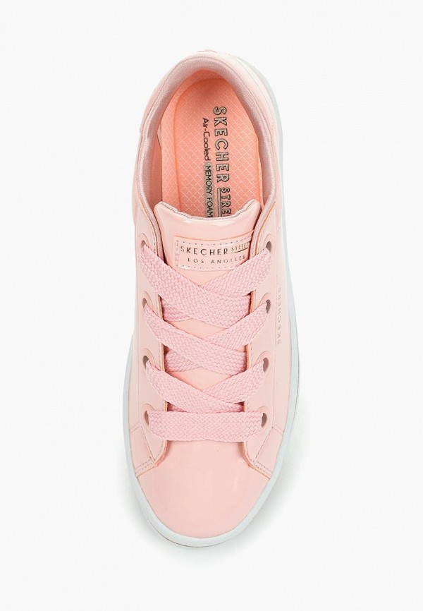 Фото 4 - Кеды Skechers розового цвета