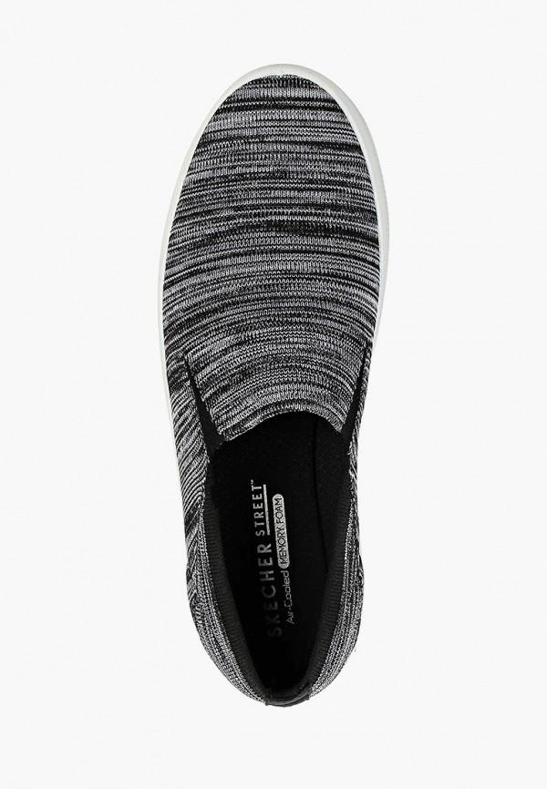 Фото 4 - Слипоны Skechers серого цвета