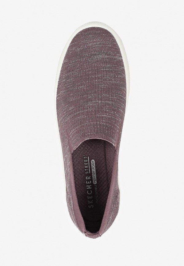Фото 4 - Слипоны Skechers фиолетового цвета