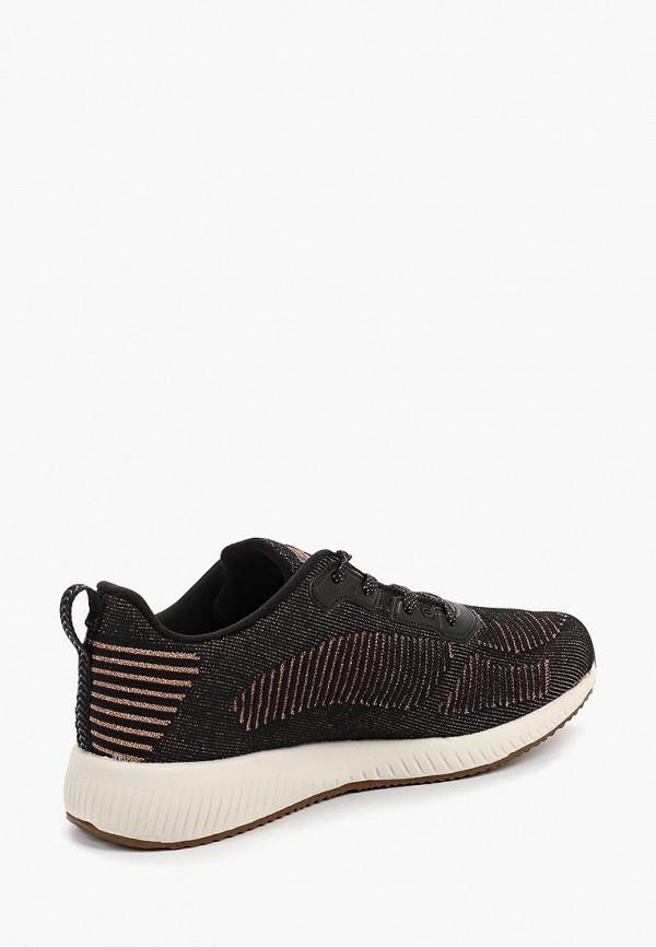Фото 3 - женские кроссовки Skechers черного цвета