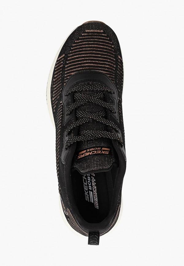 Фото 4 - женские кроссовки Skechers черного цвета