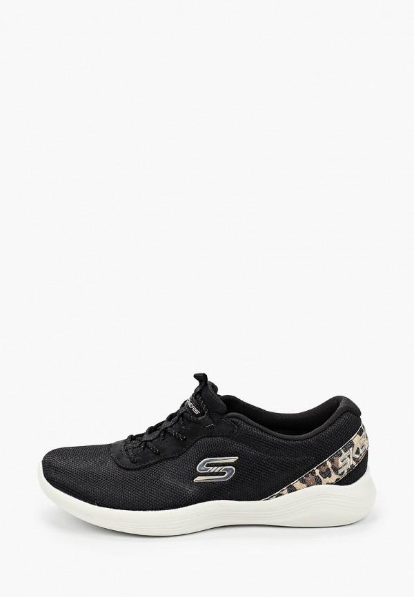 женские кроссовки skechers, черные