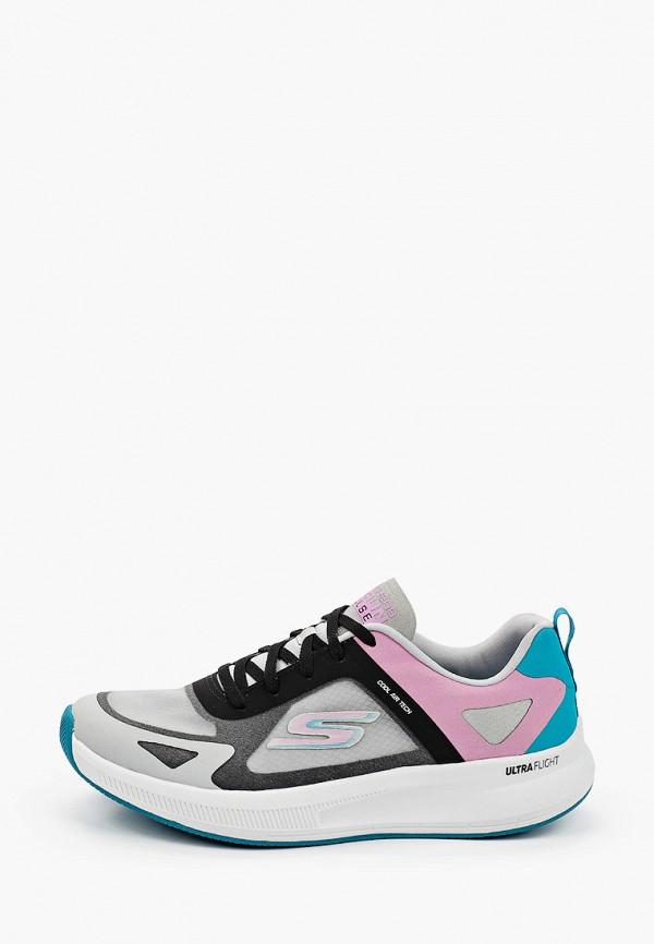 женские кроссовки skechers, разноцветные