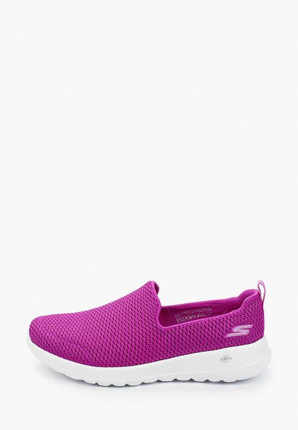 женские кроссовки skechers, фиолетовые