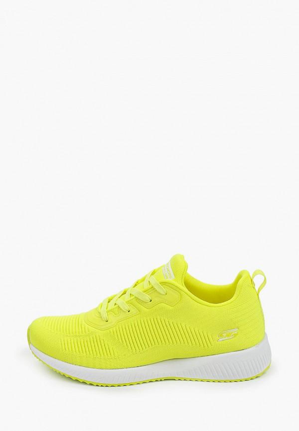 женские кроссовки skechers, желтые
