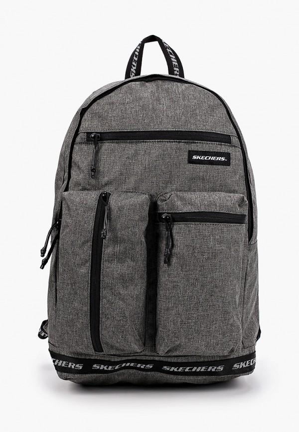 рюкзак skechers для мальчика, серый