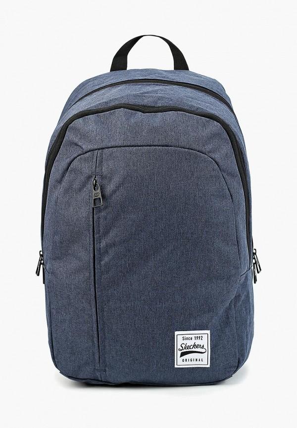 мужской рюкзак skechers, синий