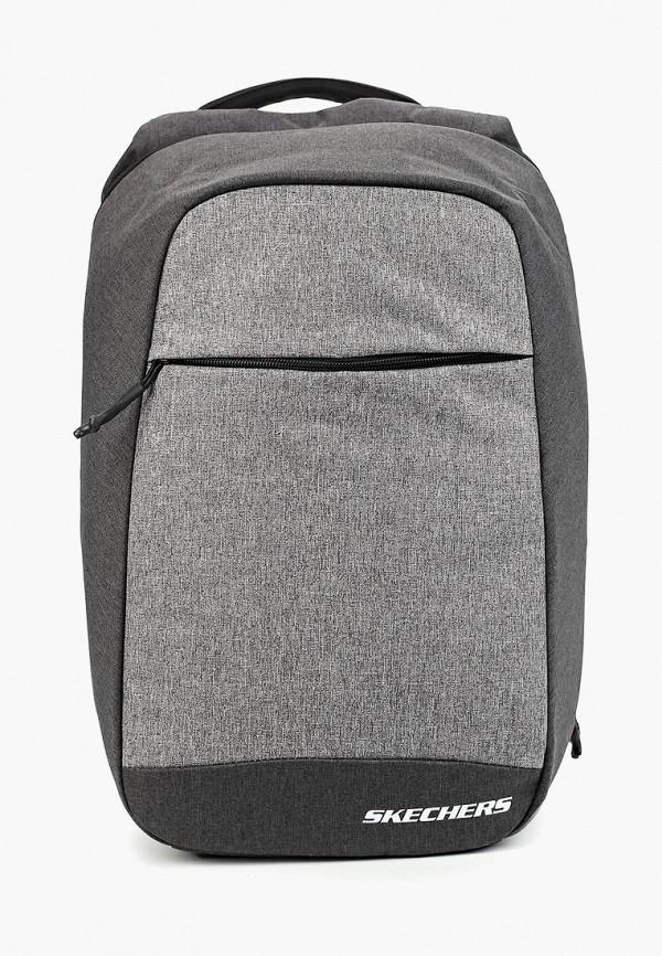 мужской рюкзак skechers, серый