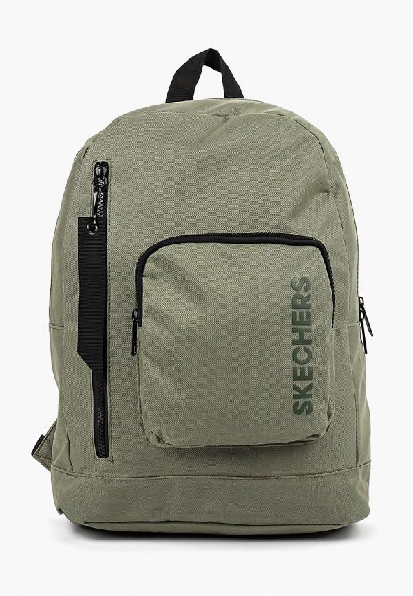 женский рюкзак skechers, хаки