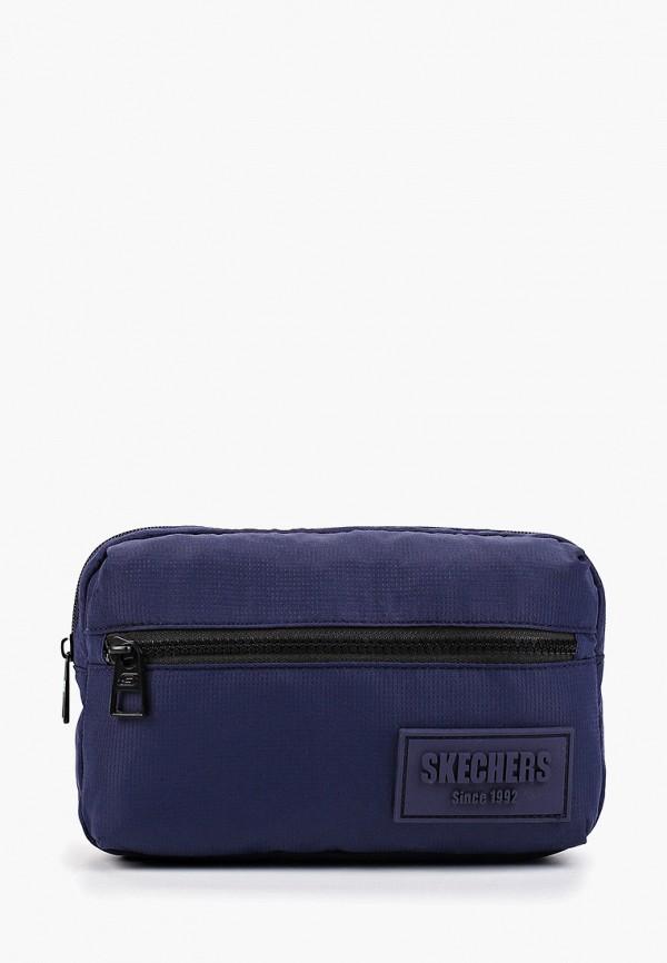 женская сумка skechers, синяя