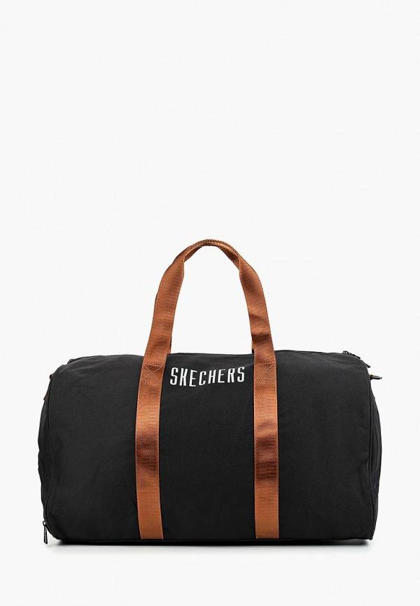 женская сумка skechers, черная
