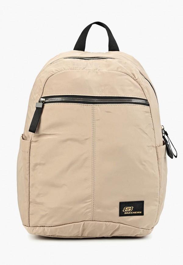 женский рюкзак skechers, бежевый