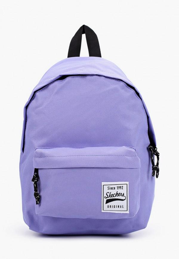 женский рюкзак skechers, фиолетовый