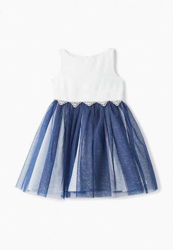 платье sly для девочки, синее