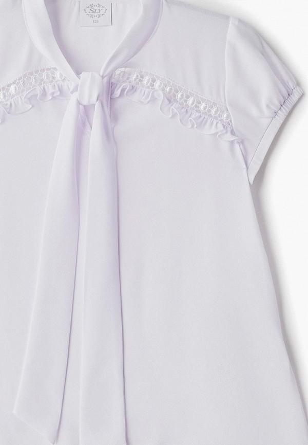 Фото 3 - Блузу Sly белого цвета