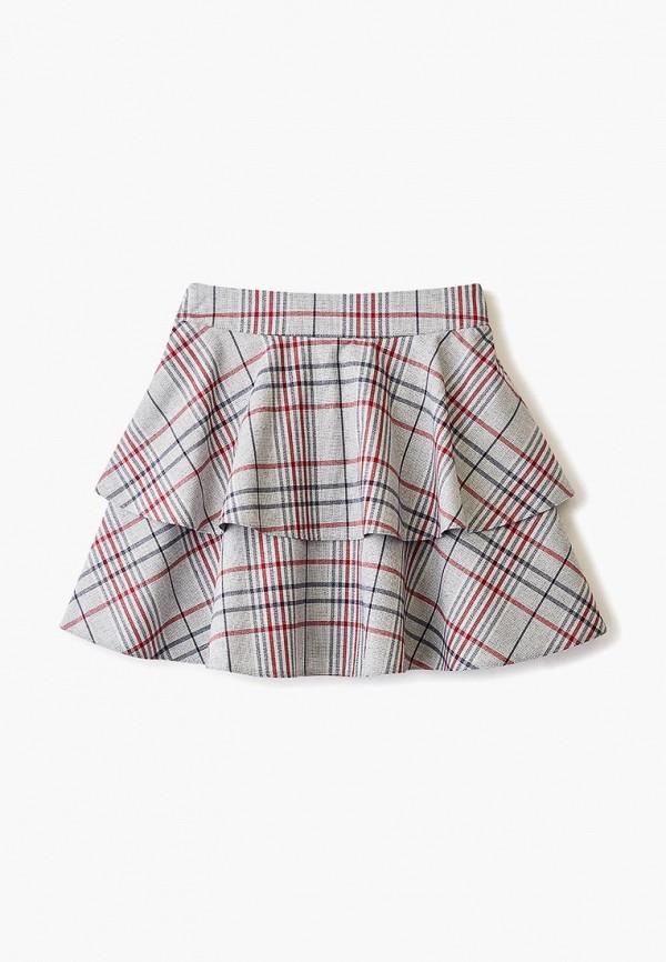 юбка sly для девочки, серая
