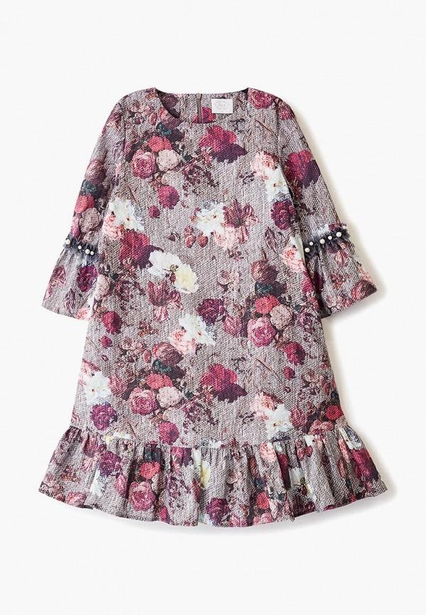 повседневные платье sly для девочки, разноцветное