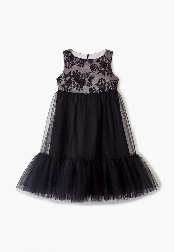 платье sly для девочки, черное