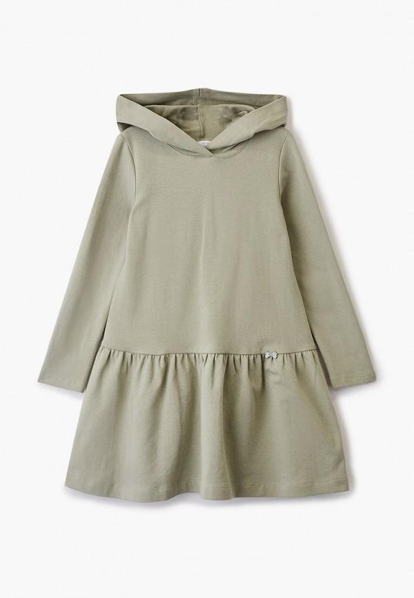 повседневные платье sly для девочки, хаки