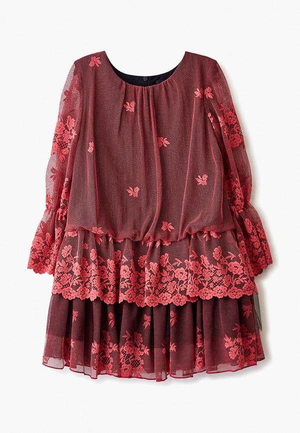 платье sly для девочки, розовое