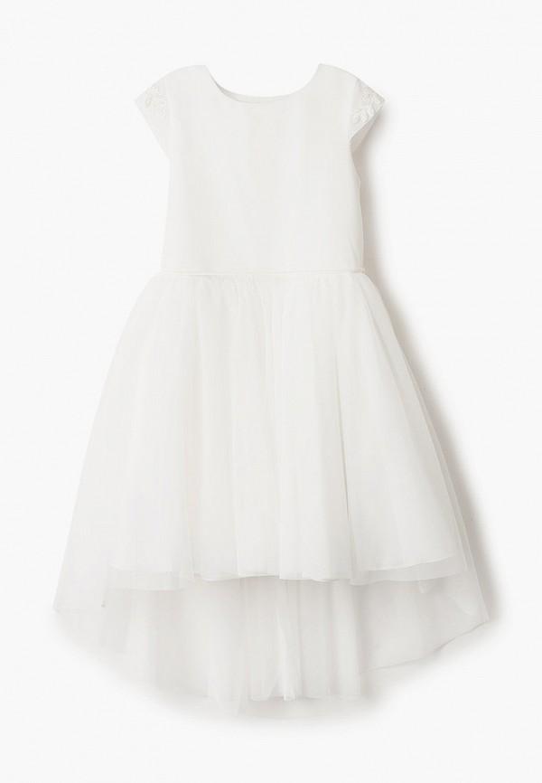 платье sly для девочки, белое