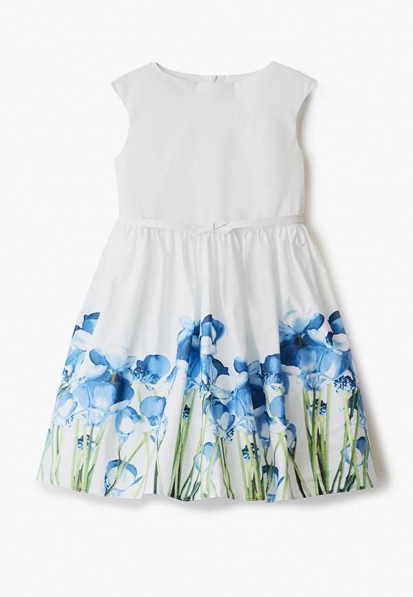 повседневные платье sly для девочки, белое