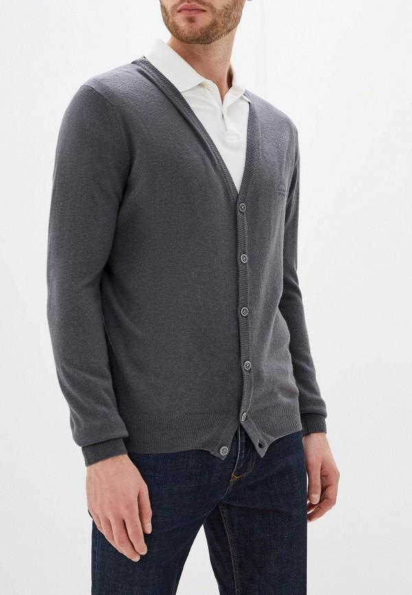 мужской кардиган smf, серый