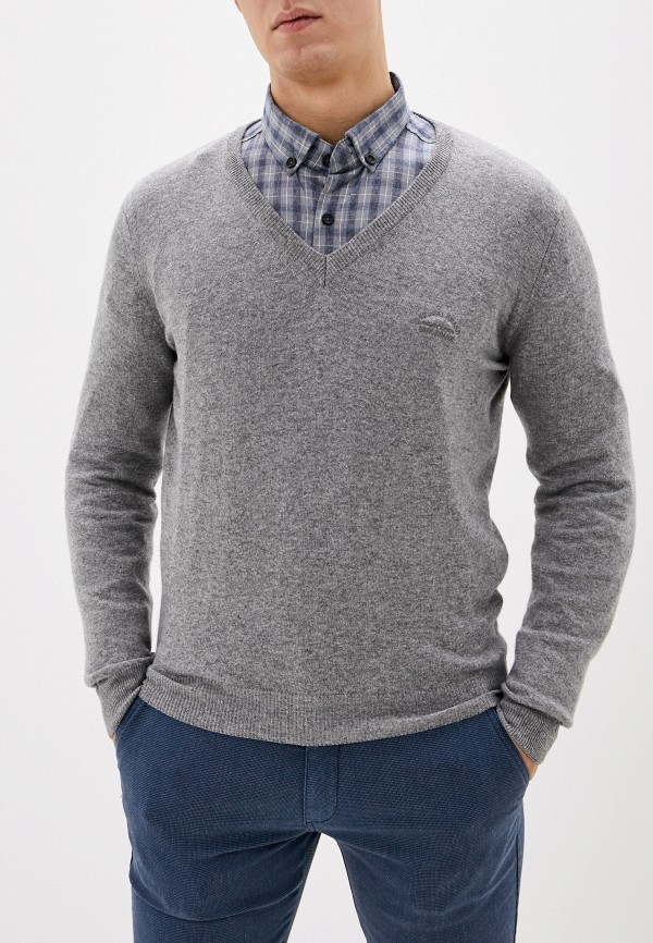 мужской пуловер smf, серый