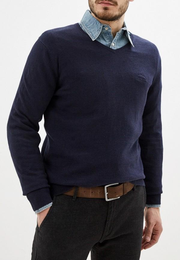 мужской пуловер smf, синий