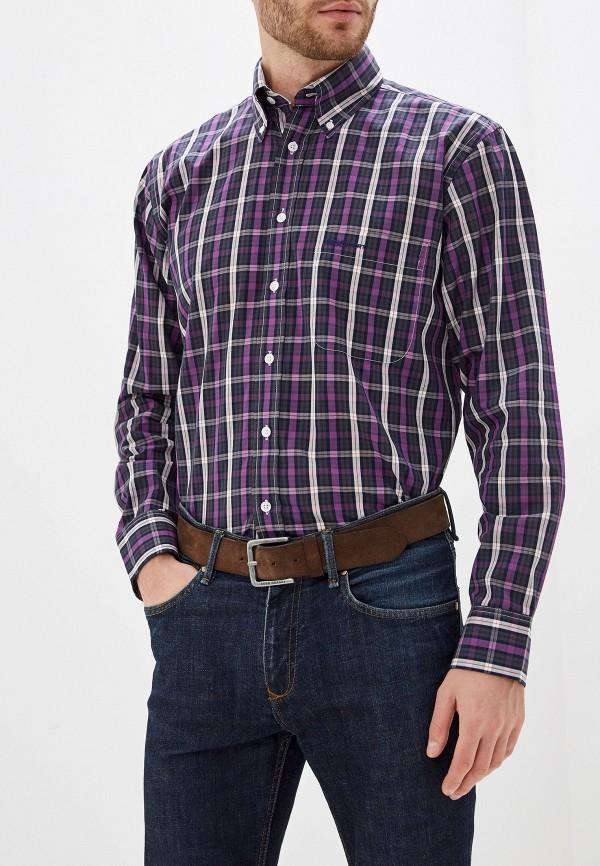 мужская рубашка с длинным рукавом smf, фиолетовая