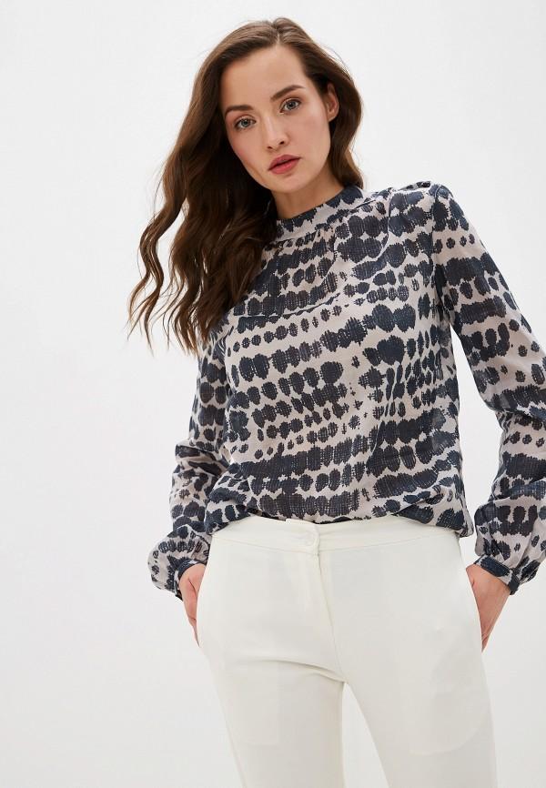 женская блузка smf, серая