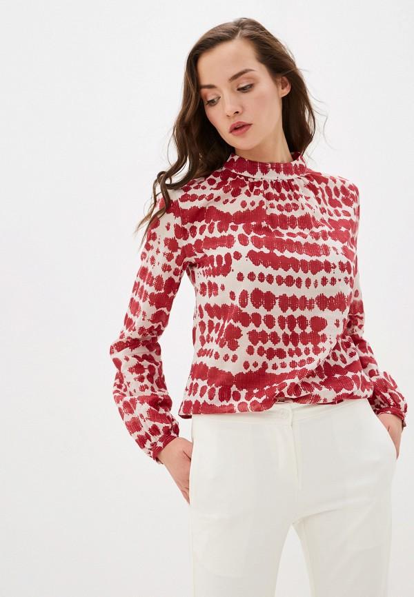 женская блузка smf, красная