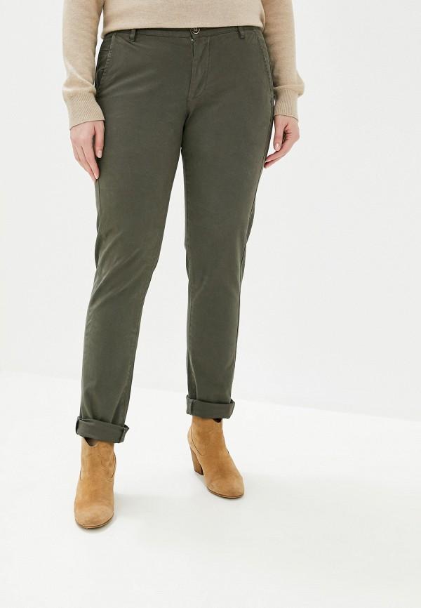 женские прямые брюки smf, хаки