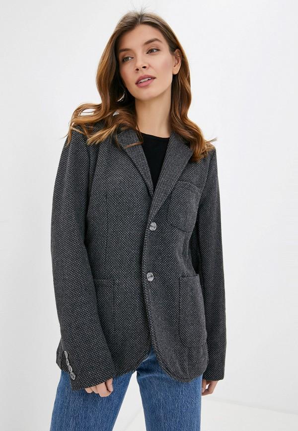 женский пиджак smf, серый