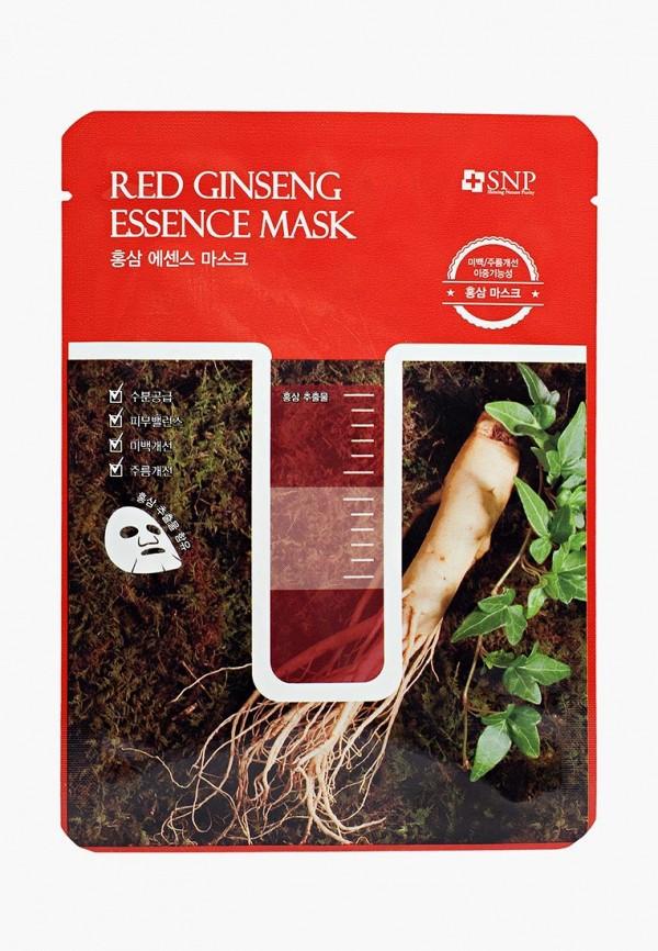 Купить Маска для лица SNP, с экстрактом корня красного женьшеня, 25 мл, sn005lwauoh2, прозрачный, Весна-лето 2019